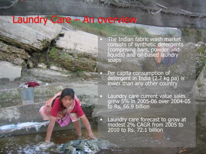 Laundry care an overview