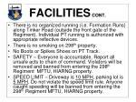 facilities cont