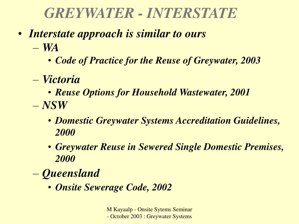 GREYWATER - INTERSTATE