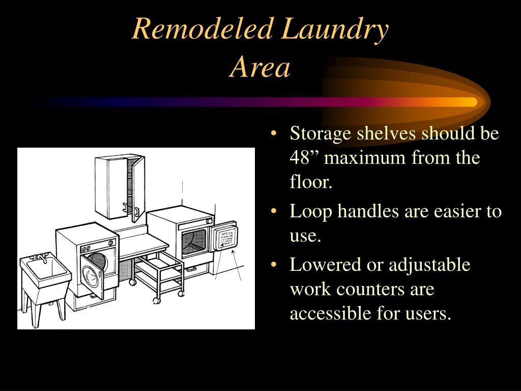 Remodeled Laundry