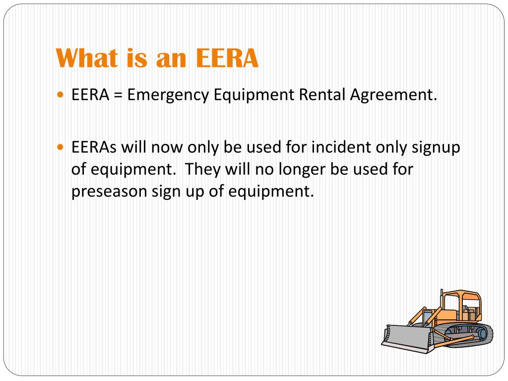What is an EERA