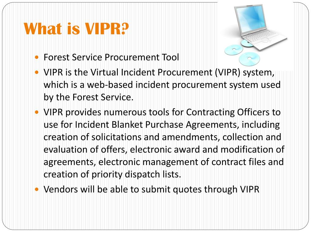 What is VIPR?