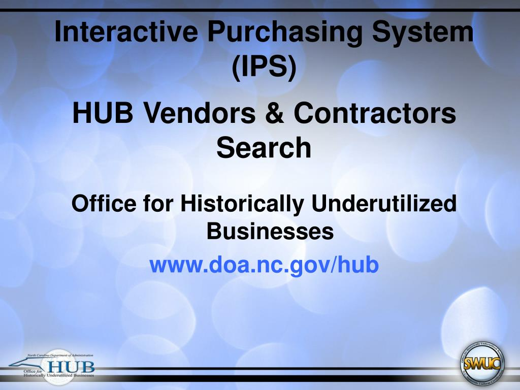 Interactive Purchasing System (IPS)