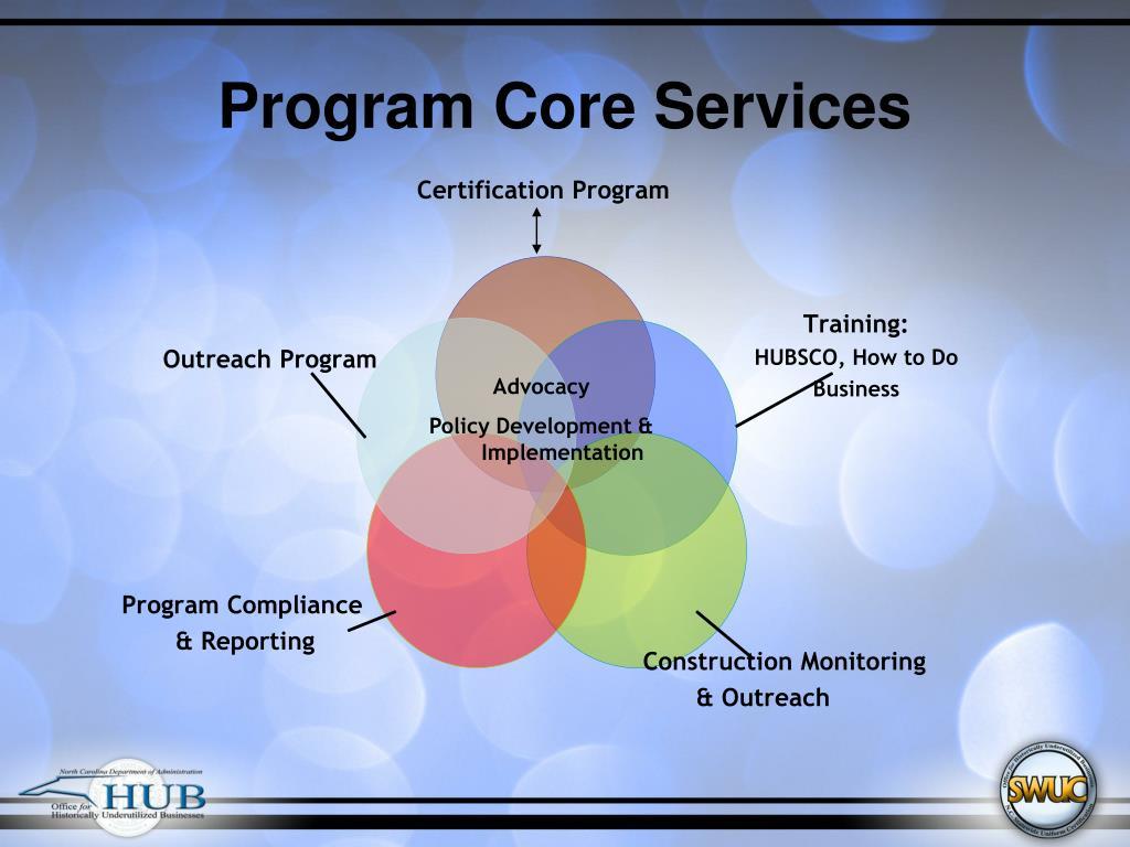 Program Core Services