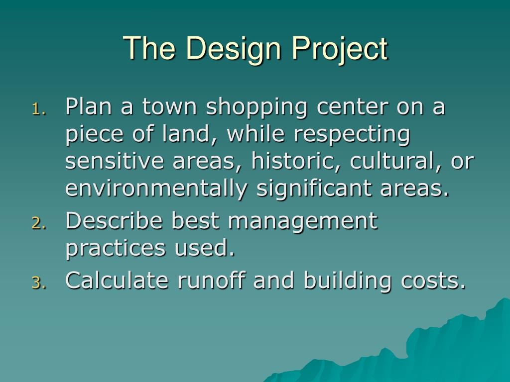 The Design Project