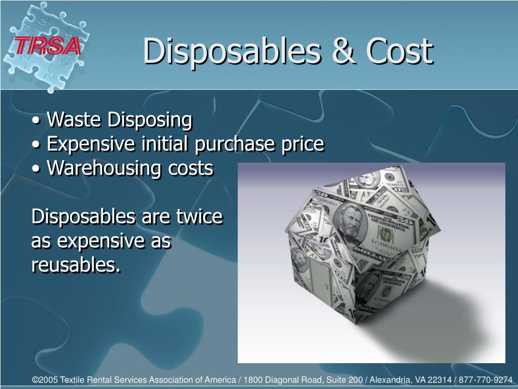 Disposables & Cost