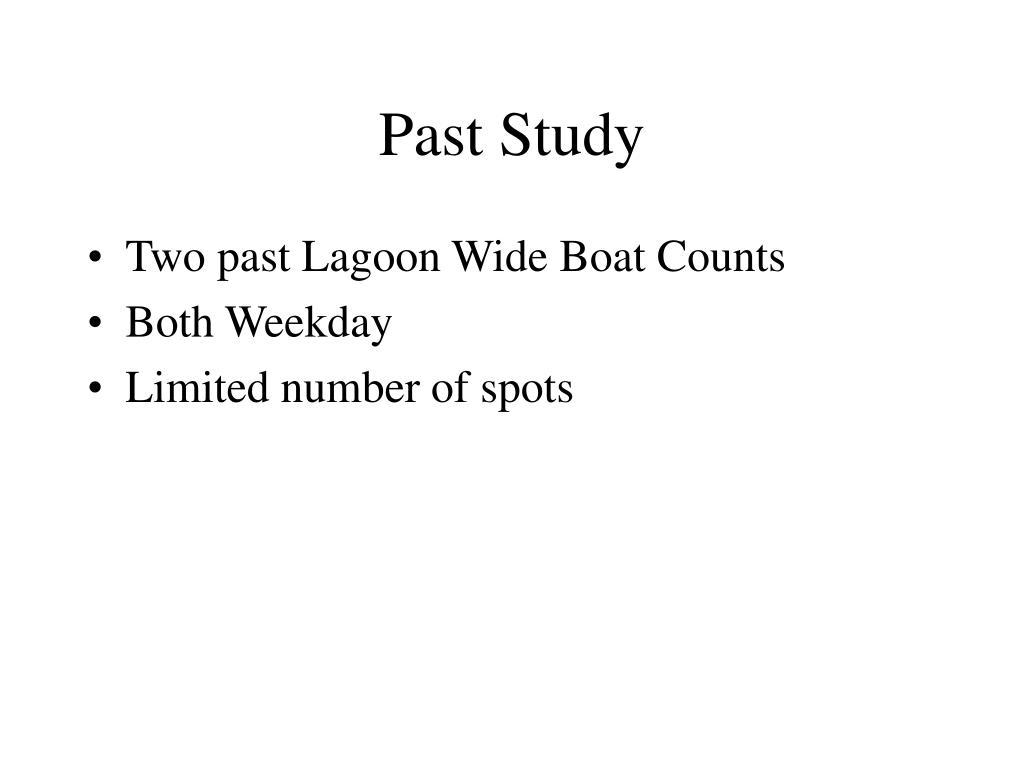 Past Study