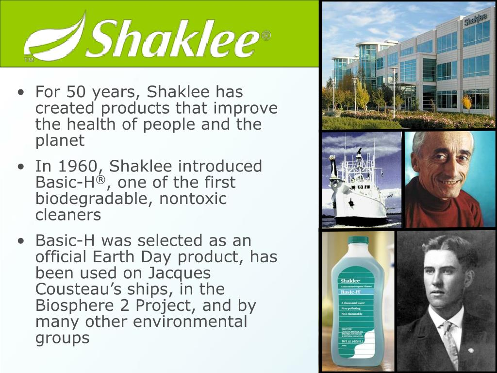 For 50 years, Shaklee has created products that improve the health of people and the planet