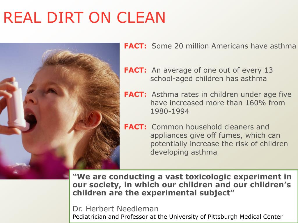 REAL DIRT ON CLEAN