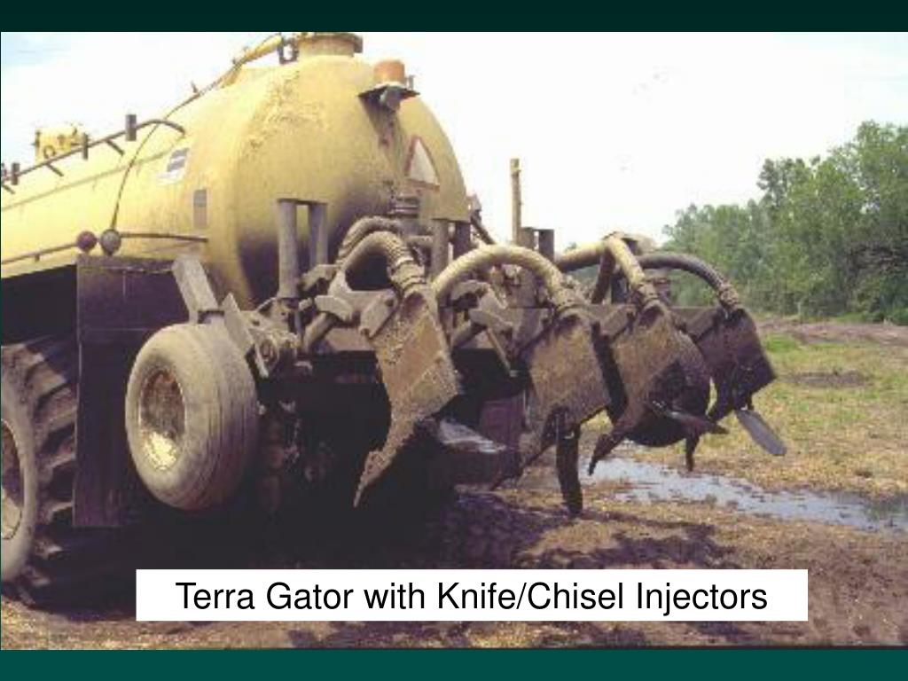 Terra Gator with Knife/Chisel Injectors