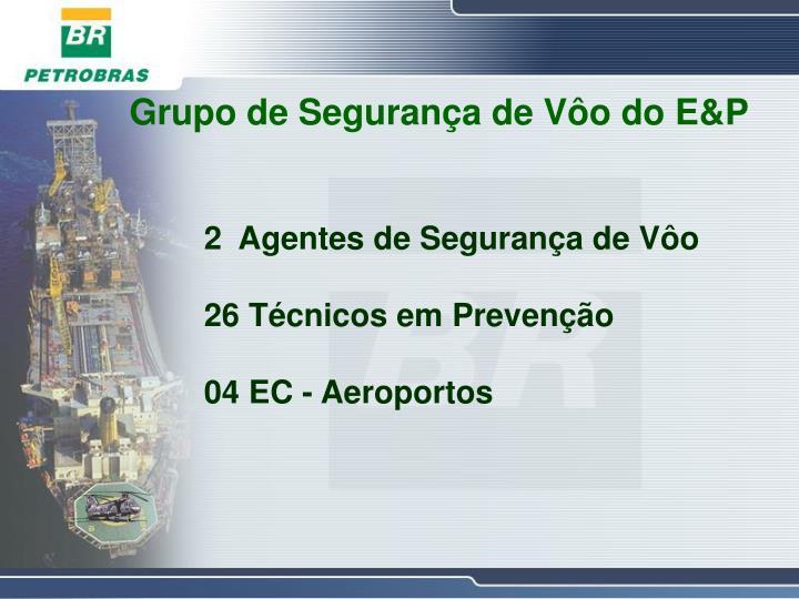 Grupo de Segurança de Vôo do E&P