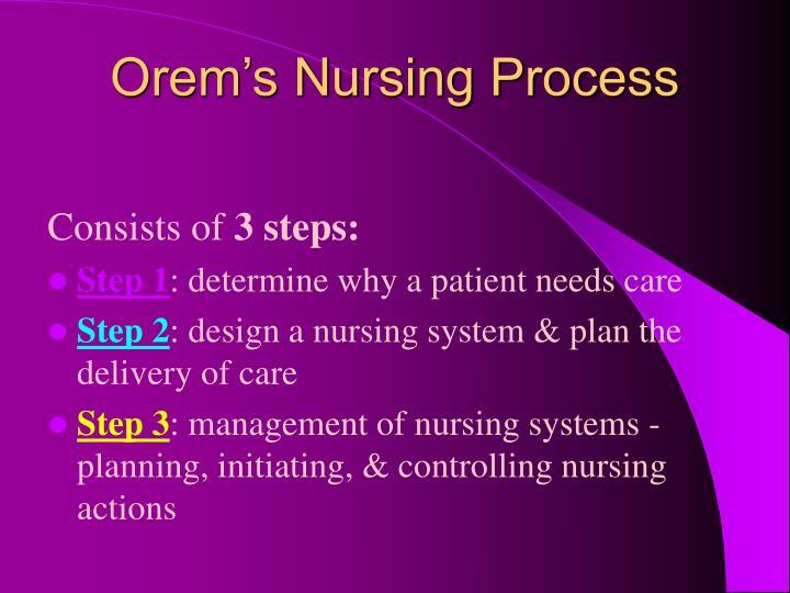 ppt - dorothea orem powerpoint presentation - id:1233077 orem nursing action diagram fish diagram for nursing