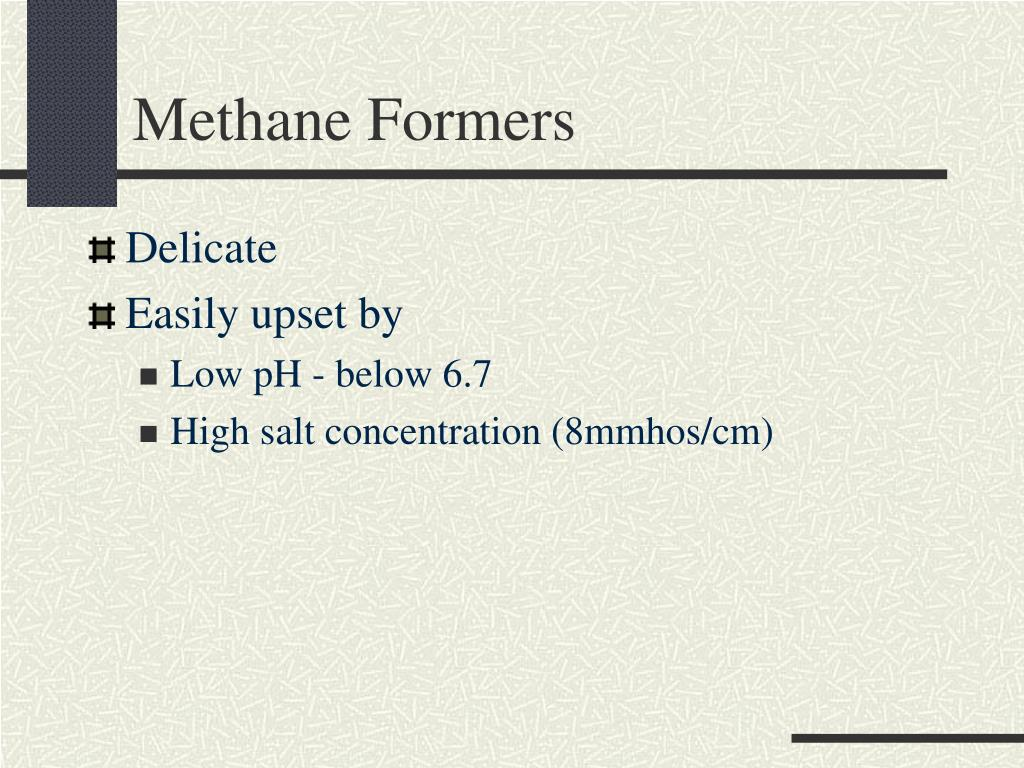 Methane Formers