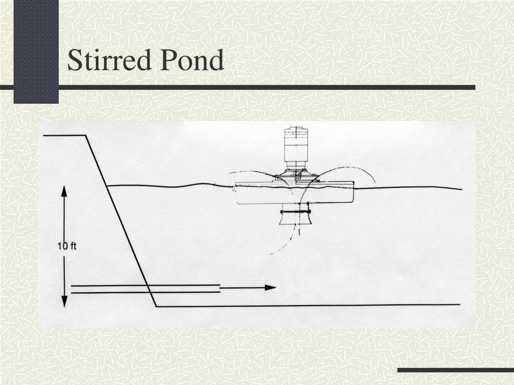 Stirred Pond