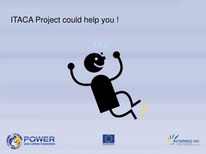 ITACA Project could help you !