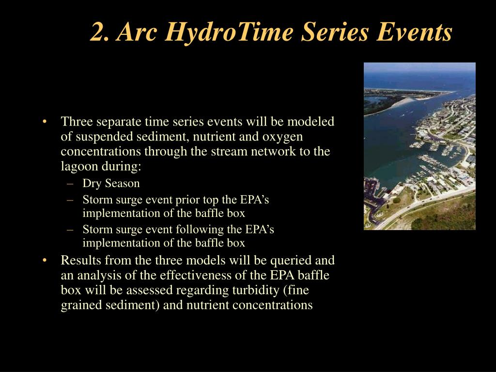 2. Arc HydroTime Series Events