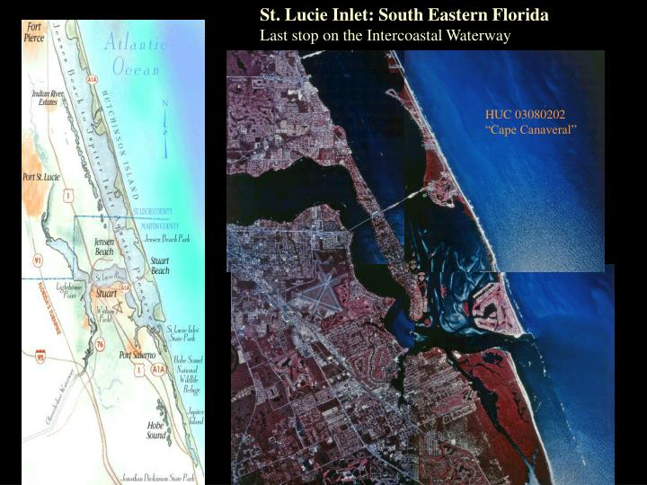 St. Lucie Inlet: South Eastern Florida