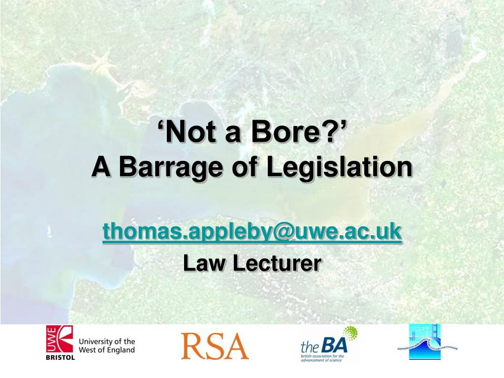 'Not a Bore?'