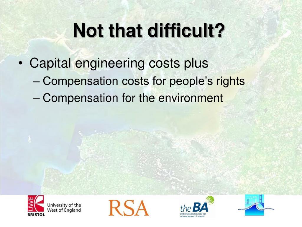 Capital engineering costs plus