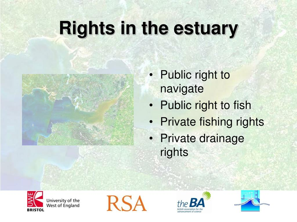 Rights in the estuary