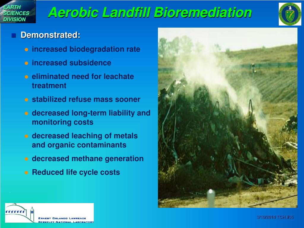 Aerobic Landfill Bioremediation