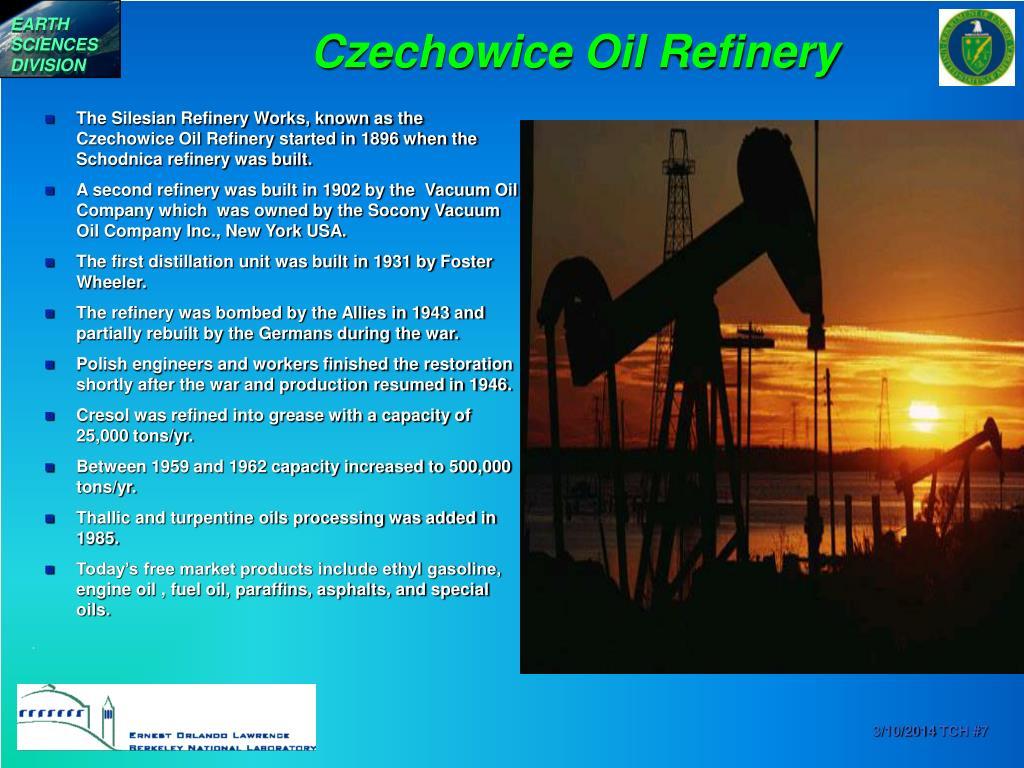 Czechowice Oil Refinery