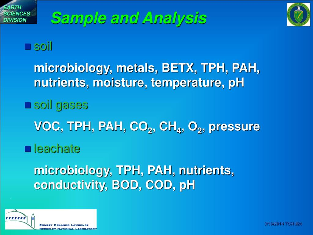 Sample and Analysis