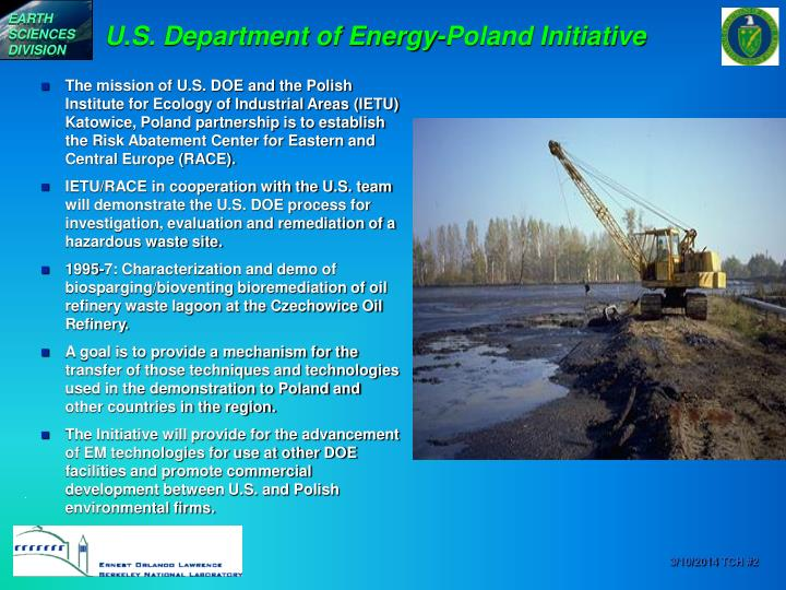 U s department of energy poland initiative
