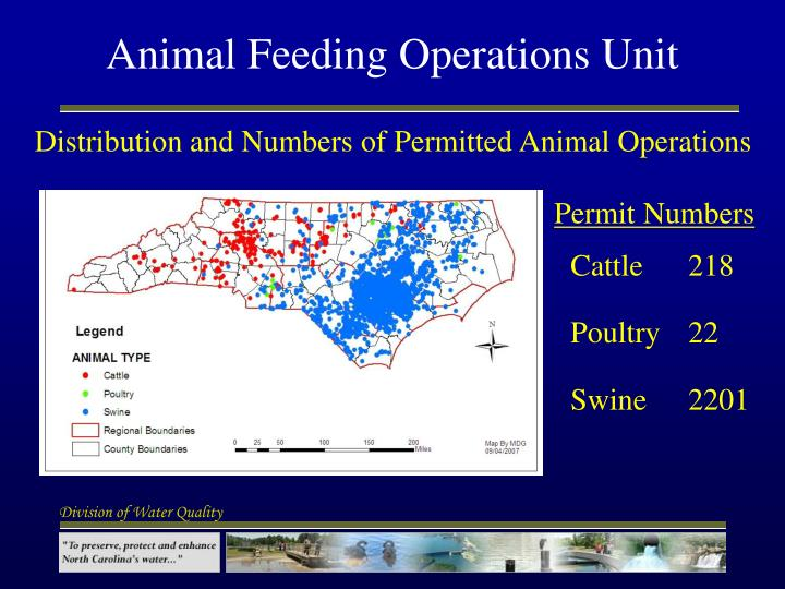 Animal feeding operations unit3