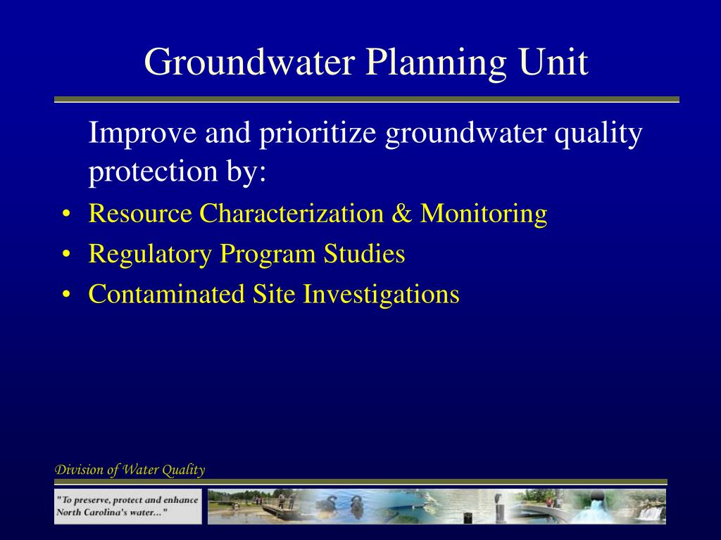 Groundwater Planning Unit