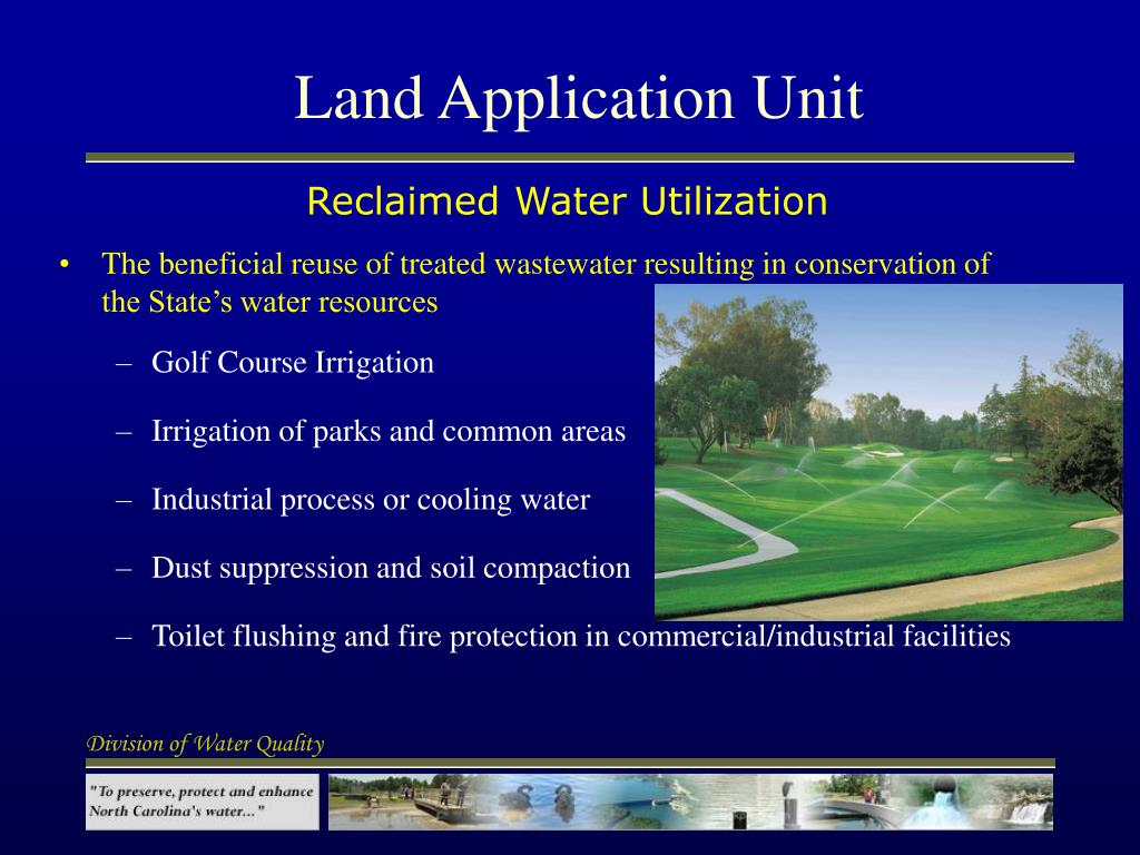 Land Application Unit