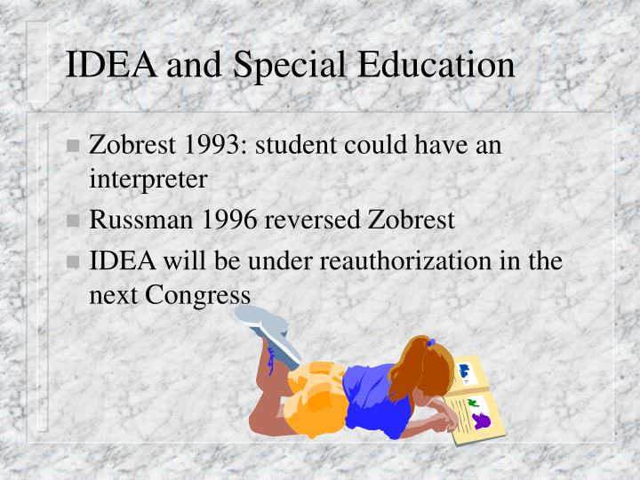 IDEA and Special Education