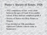 pierce v society of sisters 1926