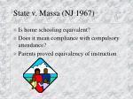 state v massa nj 1967