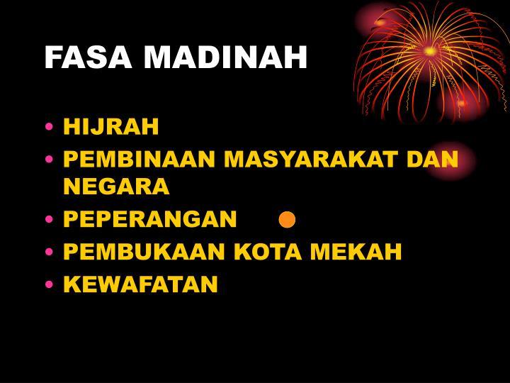 FASA MADINAH