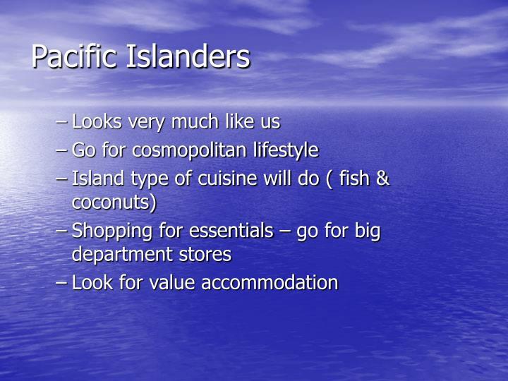 Pacific Islanders