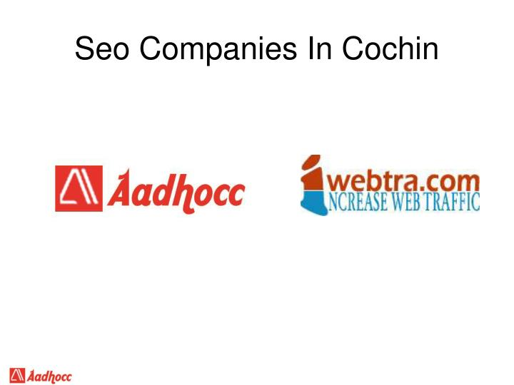 Seo Companies In Cochin