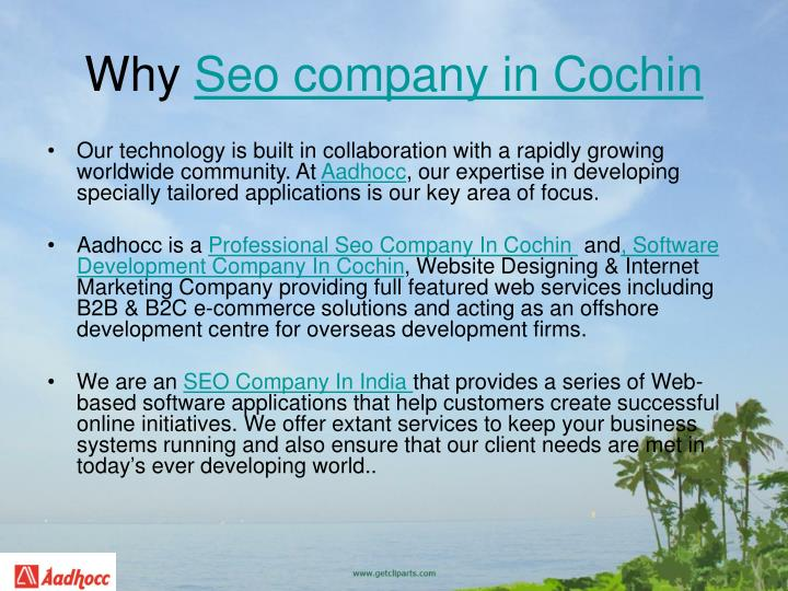 Why seo company in cochin