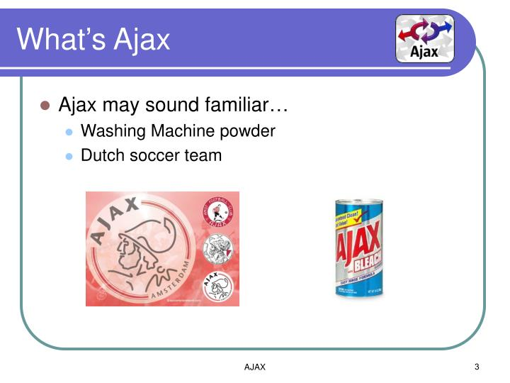 What's Ajax