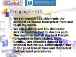 groupage lcl
