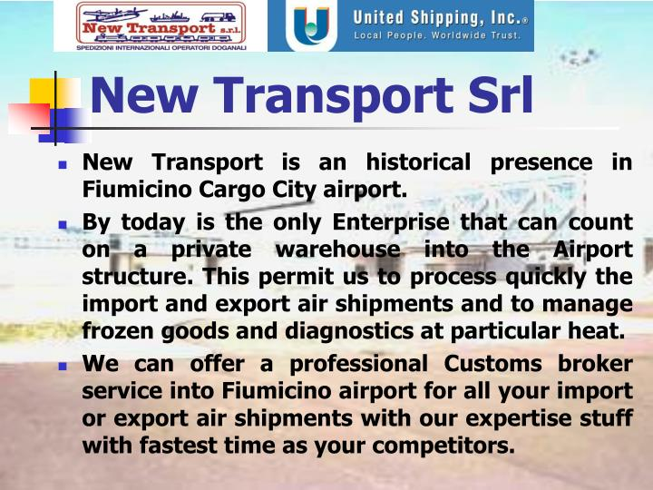 New Transport Srl
