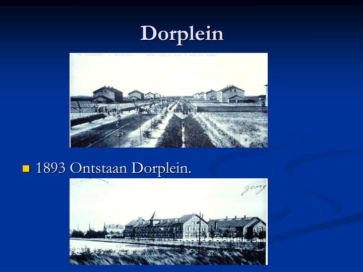Dorplein