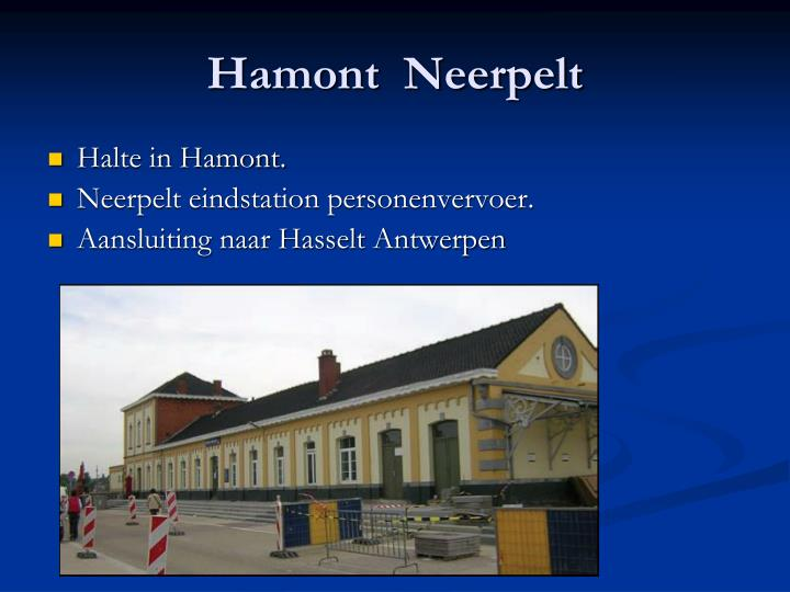 Hamont  Neerpelt