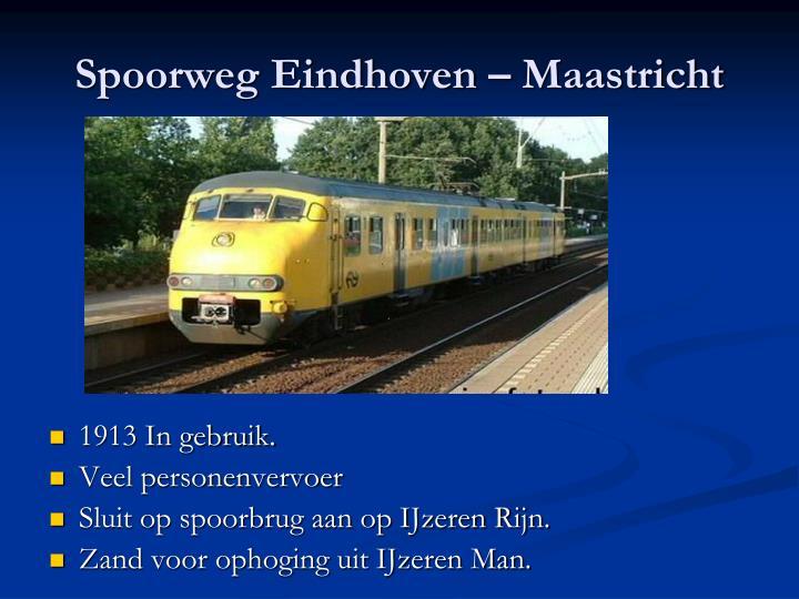 Spoorweg Eindhoven – Maastricht