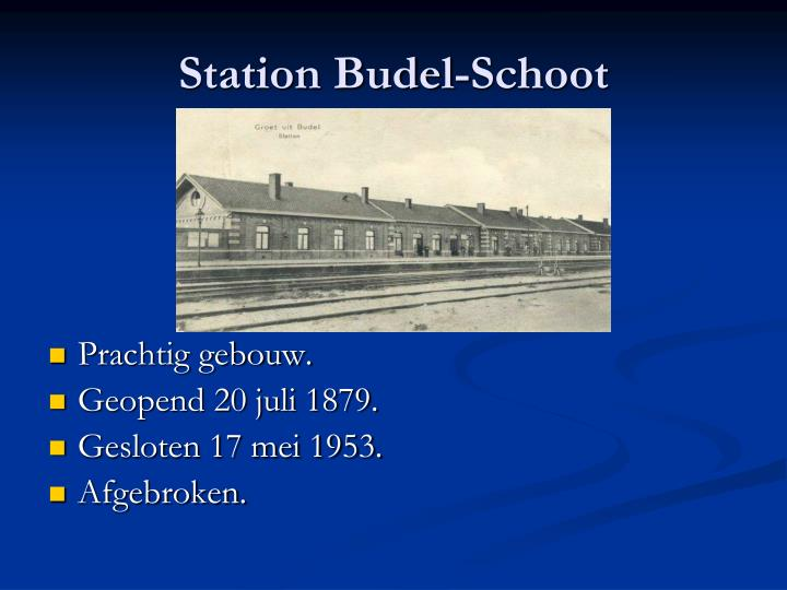 Station Budel-Schoot