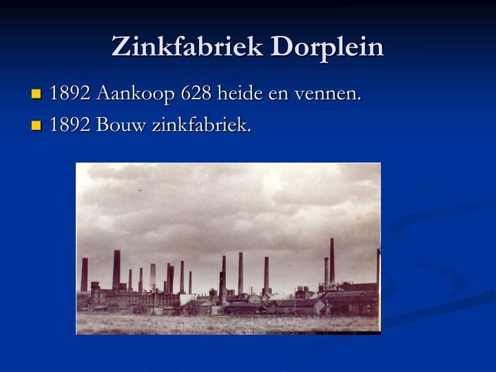 Zinkfabriek Dorplein