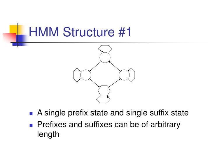 HMM Structure #1