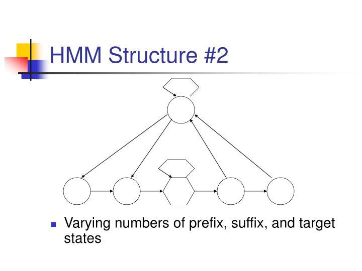HMM Structure #2