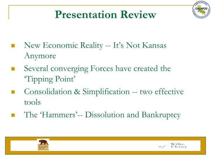 Presentation Review