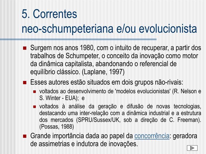 5. Correntes